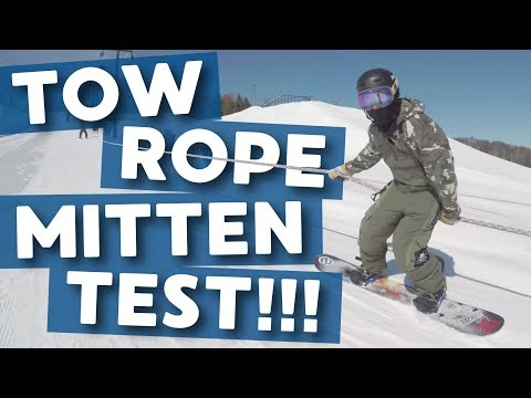Tow Rope Mitten Test – TheHouse.com