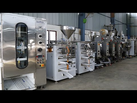 Granules Pouch Packaging Machine 2 - 20 Gram