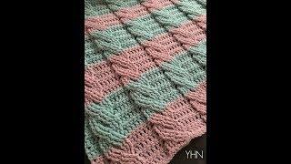 Basic Crochet Cable Blanket Pattern