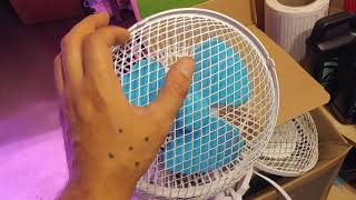 Do NOT buy these air circulation fans for your grow room or grow tents,oscillating fans explained.