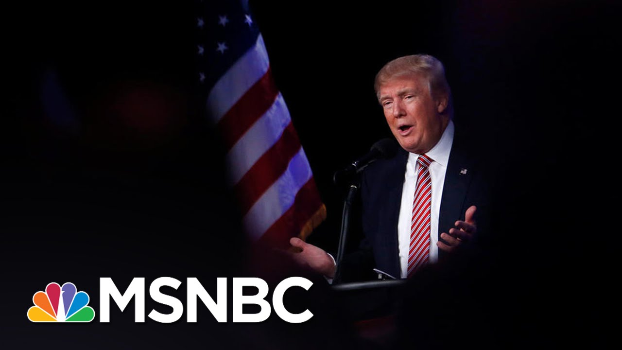 Donald Trump's Remarks On Mexico In  His Words | Morning Joe | MSNBC thumbnail