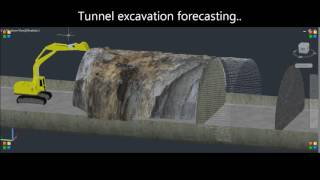 Excavation forecasting control during tunnel construction 2