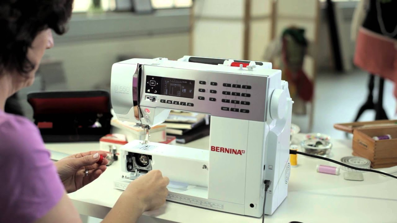 1/10 BERNINA 580/ 555/ 530: getting started and prepared for sewing