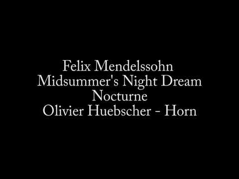 Nocturne from Mendelssohn's Midsummer's Night Dream