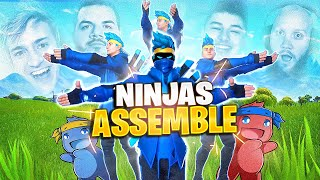 FULL NINJA SQUAD! TIME TO PON PON!