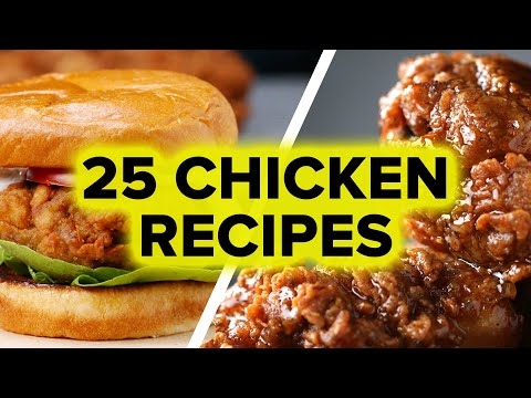 25 Delicious Chicken Recipes All In One Place!