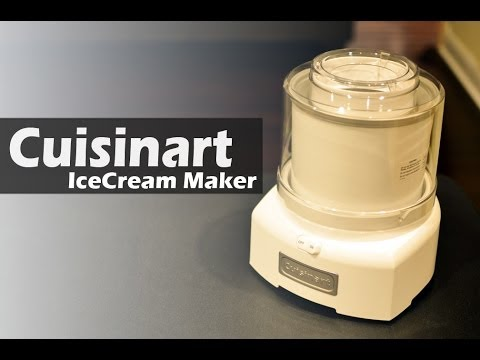Video REVIEW: Ice Cream Maker - Cuisinart ICE-21