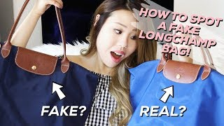 ALL ABOUT MY LONGCHAMP BAGS + HOW TO SPOT A FAKE!! | Life of