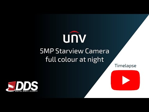 UNV - Full colour at night - Timelapse