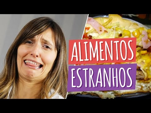 Imagem ilustrativa do vídeo: 7 Alimentos Estranhos