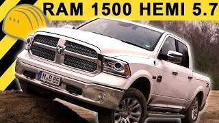 🔥2017 DODGE RAM 1500 5.7 HEMI V8 TEST (Deutsch) & OFFROAD REVIEW | Longhorn LPG | [4K]