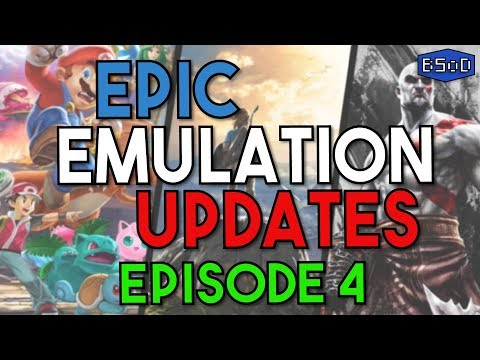Epic Emulation Updates EP 4 | Smash Ultimate In-Game, BOTW Time