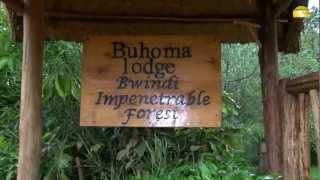 preview picture of video 'Buhoma Lodge, Bwindi Nationalpark, Uganda © Abendsonne Afrika'