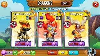 Dragon City   6 Special Offer Dragons   Don