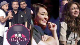 AIB Knockout Controversy  JAIL Or BAIL  Ranveer Singh Arjun Kapoor Karan Johar