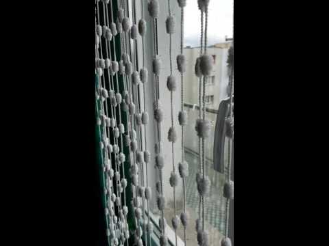 Fadenvorhang waschen so gehts