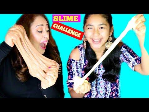 Slime Challenge Nutella Slime Vs Popcorn Slime!!!B2cutecupcakes