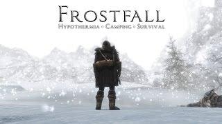 Skyrim Frostfall обзор хардкор режима