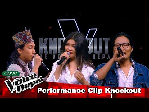 Kushal Vs Priya Vs Gobin | Knockout |The Voice of Nepal Season 3 - 2021
