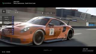 Gran Turismo™SPORT - Tokyo Expressway South Inner Loop Porsche RSR Gr3 (online race) v2