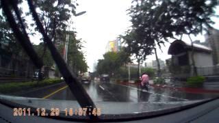 J博視測試影片 雨天