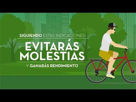 Al montar en bicicleta preocúpate por tu postura - Cuidarte es Quererte