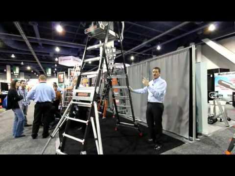 Safety Cage Articularing Ladder
