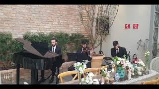 Olha O Que O Amor Me Faz Casamento Sandy E Junior Grupo Trítono Casa Quintal #casaquintal