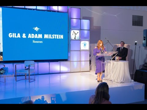 Adam and Gila Speak at the 2019 Los Angeles Birthright Gala