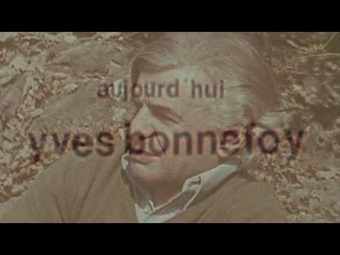 Vidéo de Yves Bonnefoy