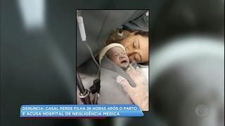 Bebê Morre Após O Parto E Pais Acusam Hospital De Negligência Na Grande SP