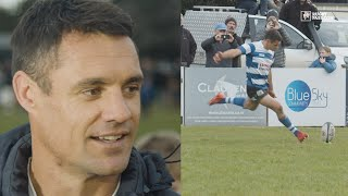 Dan Carter assesses his performance after making his NZ rugby comeback for Southbridge RFC