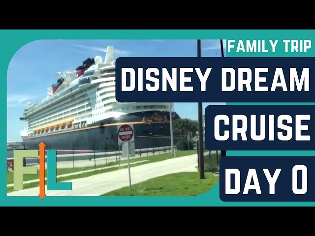 DISNEY DREAM CRUISE 2017 Day 0 (Airport, Sailing Away Party, The Juggler Show)