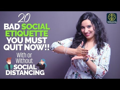 20 Bad Social Etiquette/Manners You Should Quit Now | Self ...
