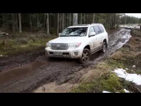 2016 Land Cruiser Off- Road New V8 Land Cruiser  Off Road Test LC-200 Arb