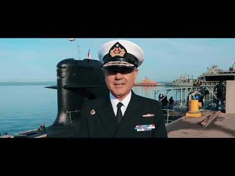 El submarino O´Higgins de la Armada de Chile interoperará con la Armada de EEUU