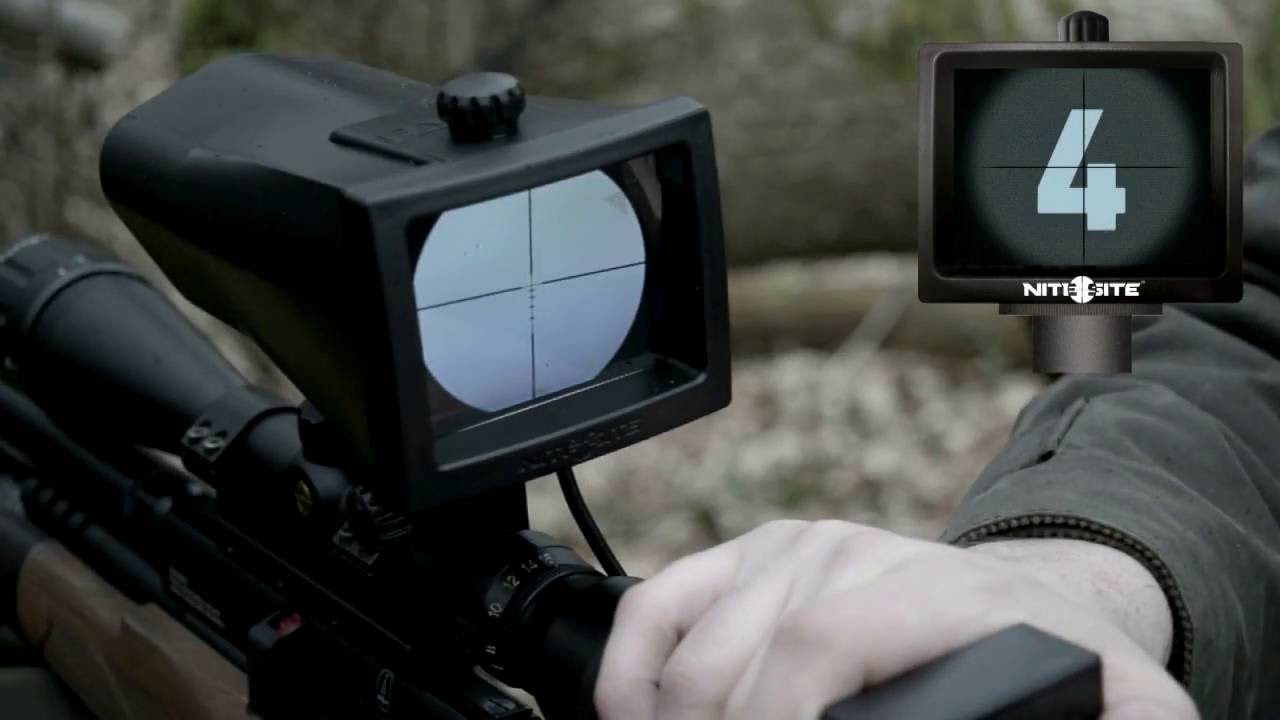 Setting up a NiteSite night vision sight