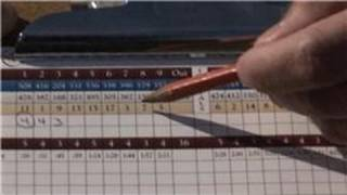 Golf Tips : How to Keep Score in Golf Games