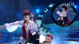 Alestorm - Wolves Of The Sea (Eurovision video)