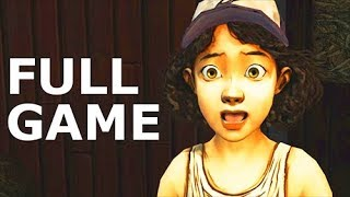 The Walking Dead Telltale Season 1 - Full Game & Ending (No Commentary) (All Cutscenes Full Movie)