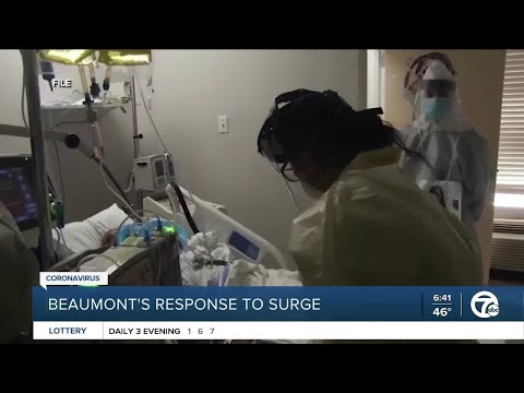 Beaumont doctor speaks on COVID-19 surge, pregnant women being hospitalized