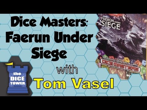 Dice Tower Reviews: Dungeons & Dragons Dice Masters: Faerûn Under Siege