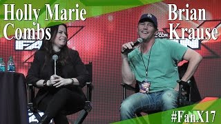 Convention FanX 2017 with Brian Krause in march 2017