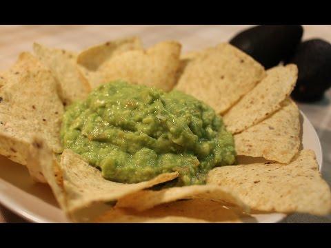 Salsa Guacamole. Rápida sencilla y deliciosa.