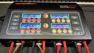 МОЩНАЯ ЗАРЯДКА для Аккумуляторов на 4 канала. Ultra Power UP100AC