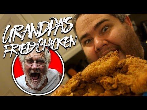 GRANDPA'S FRIED CHICKEN!