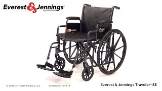 Everest and Jennings Traveler SE Wheelchair