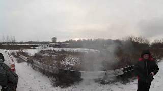 Шашлыки ХондаКлуба на автобусной конечной. 360 видео Кемерово