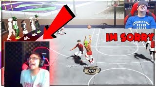 i MADE RONNIE 2K SON CRY and END HIS LIVESTREAM BECAUSE OF MY JUMPSHOT NBA 2K19 !!!