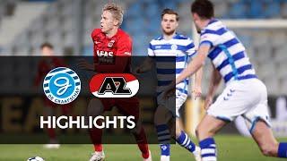 Highlights De Graafschap - Jong AZ | Keuken Kampioen Divisie